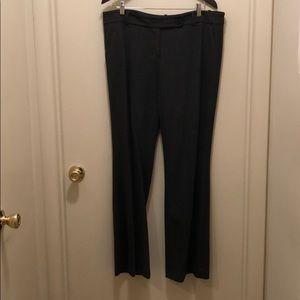 Charcoal loft slacks